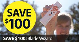 Save Sale $50 Discount Blade Wizard