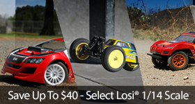 Losi 1/14 scale 8IGHT Rally Desert Truck Sale