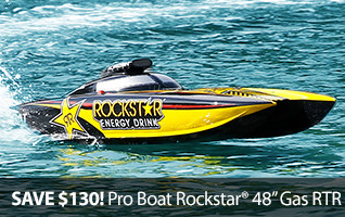 Pro Boat Rockstar 48 Inch Gas Gasoline RTR Ready To Run