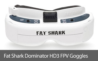 Fat Shark Dominator HD3 FPV Goggles Headset