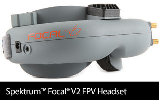 'Spektrum Focal V2 FPV Wireless Headset