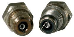 Change your glow plug if you notice mangled elements or particles attached to it.