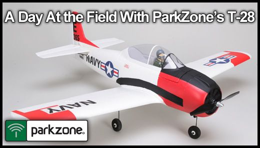 Jim Booker reviews the Parkzone T-28 Trojan