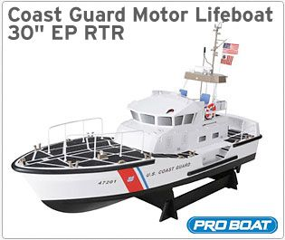 Coast Guard Lifeboat 30 inch EP RTR