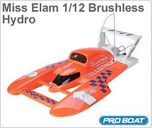Miss Elam 1/12 Brushless Hydro