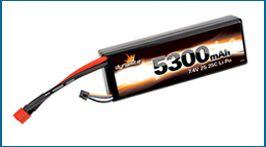 Dynamite 5300mAh 2-cell LiPo
