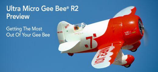 E-flite UMX™ Gee Bee® R2