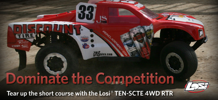 TEN SCTE 4WD Short Course