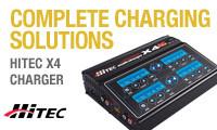 Hitec X4 Chargers