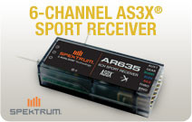 AR635 AS3X Receiver