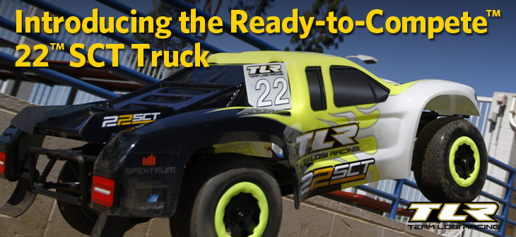 TLR Ready-to-Compete 22SCT Truck