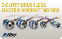 Eflite Brushless Motors