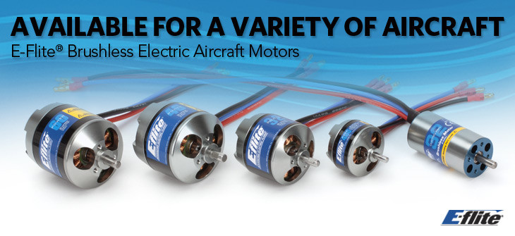 E-flite Brushless Motors