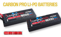 Orion carbon Pro Batteries