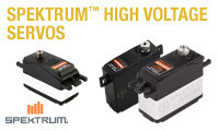 Spektrum High Voltage Servos