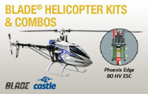 Blade Helicopters with Castle Creation ESC