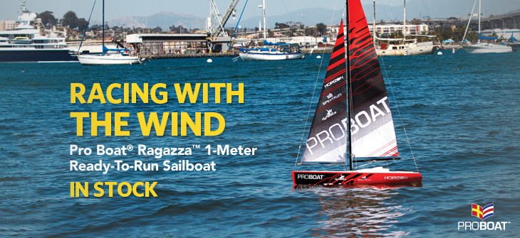 Proboat Ragazza 1 Meter Sailboat RTR