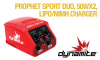 Dynamite Prophet Sport Duo 50Wx2 AC Battery Charger