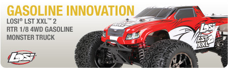 Losi 1/8 LST XXL-2 4WD Gas Monster Truck RTR