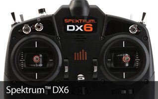 Spektrum DX6 6-channel RC transmitter