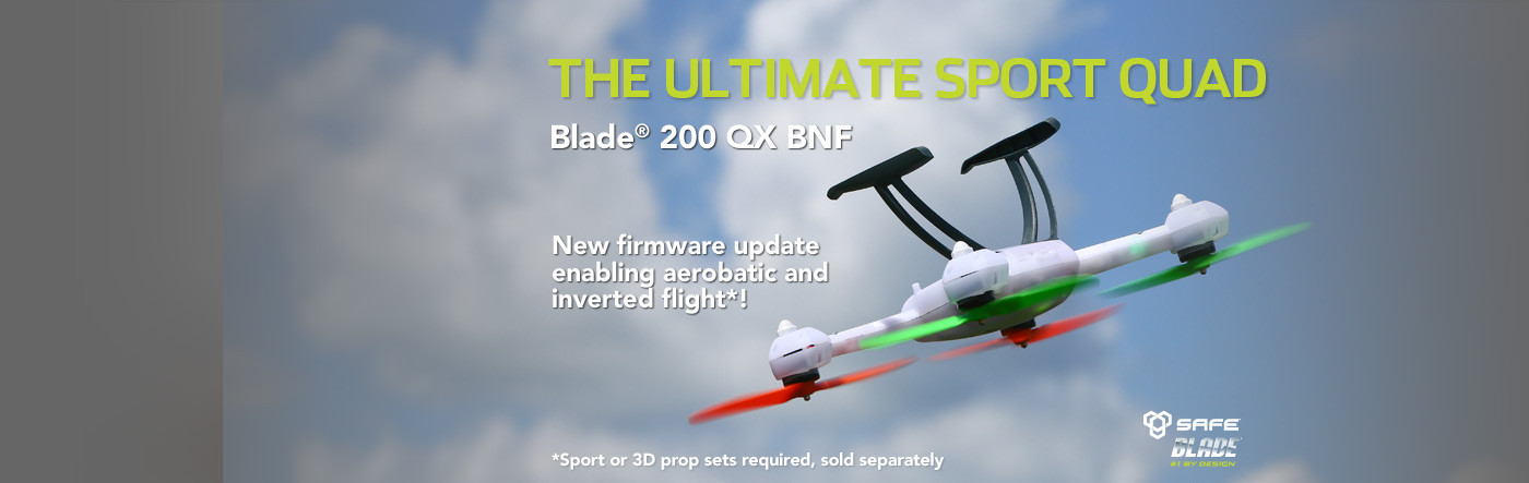 Blade 200 QX new aerobatic firmware