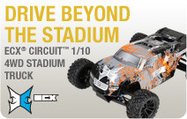 1/10 Circuit 4WD Brushed Stadium Truck RTR