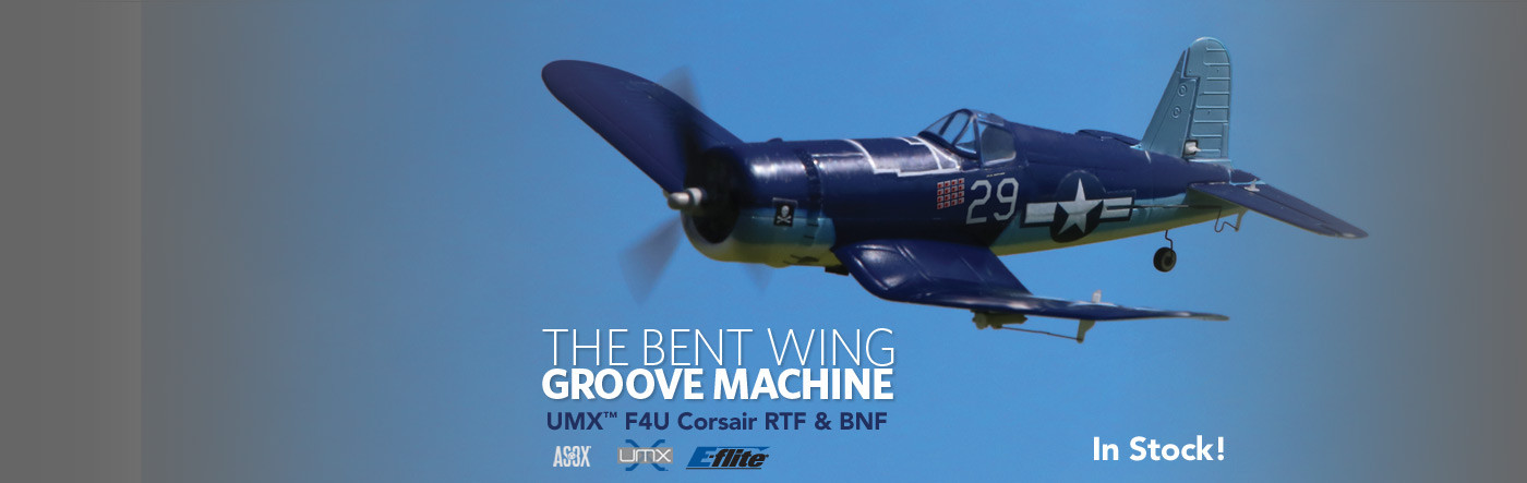 E-flite UMX F4U Corsair with AS3X Technology