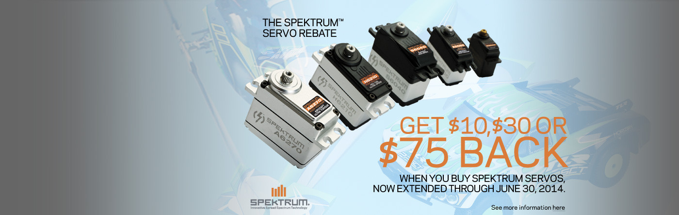 Spektrum Rebate