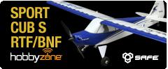 HobbyZone Sport Cub S RC Ultra Micro Aircraft