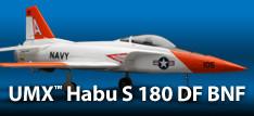 E-flite UMX Habu S 180 DF Jet