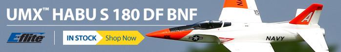 E-flite UMX Habu S 180 DF Micro RC Ducted Fan Jet