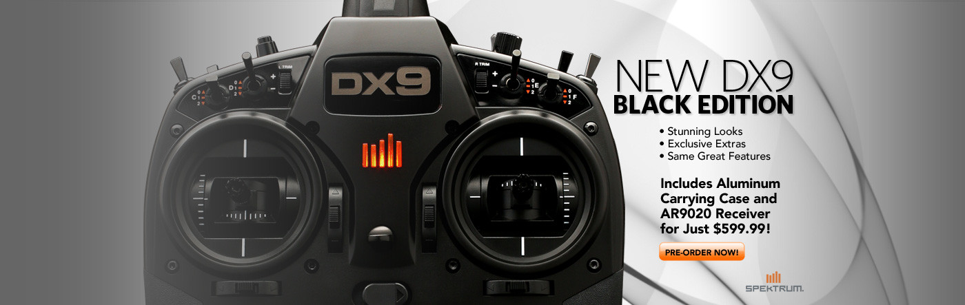 Spektrum DX9 Black Edition System