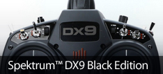 Spektrum DX9 Black Edition RC Transmitter