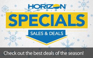 Shop all Horizon Hobby Specials, Sales, and Deals