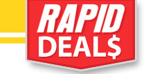 New RC Rapid Deals every Tuesday