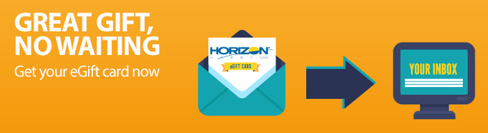 Horizon Hobby eGift Cards perfect for your family and friends!