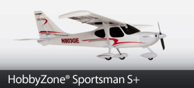 The next Greatest thing in RC Airplanes! The HobbyZone Sportsman S+