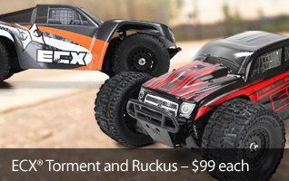 ECX 1/18 Torment and Ruckus