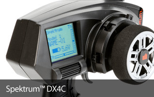 Free bonus receiver with Spektrum DX4C Purchase