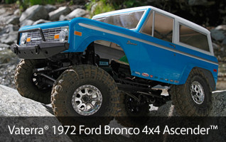 1/10 1972 Ford Bronco 4x4 Ascender RTR