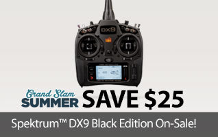 Spektrum DX9 Black Edtion RC Transmitter Sale