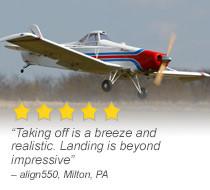 Hangar 9 33% Pawnee 80cc ARF Scale Tow Plane Giant Scale RC Airplane