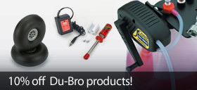 Save 10% on DuBro RC Products
