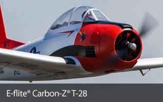 EFL1350/EFL1375 E-flite Carbon-Z T-28 BNF-Basic and PNP