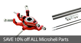 Save 10% Off Microheli Micro Heli Parts Accessories