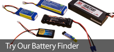RC Battery Finder, Locate your power!