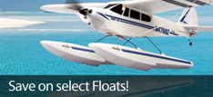 RC Airplane Float Sale