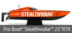 Pro Boat Stealthwake Brushed 23-inch RTR Deep V
