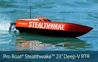 Pro Boat Stealthwake 23 Inch Deep V RTR Ready to Run