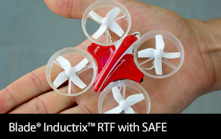 Inductrix Blade Ducted Fan RTF BNF LiPo Flip